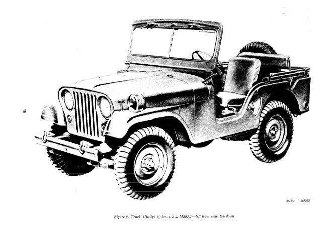 Jeep M38A1, M170 Ambulance. ORD 9 SNL G-758.