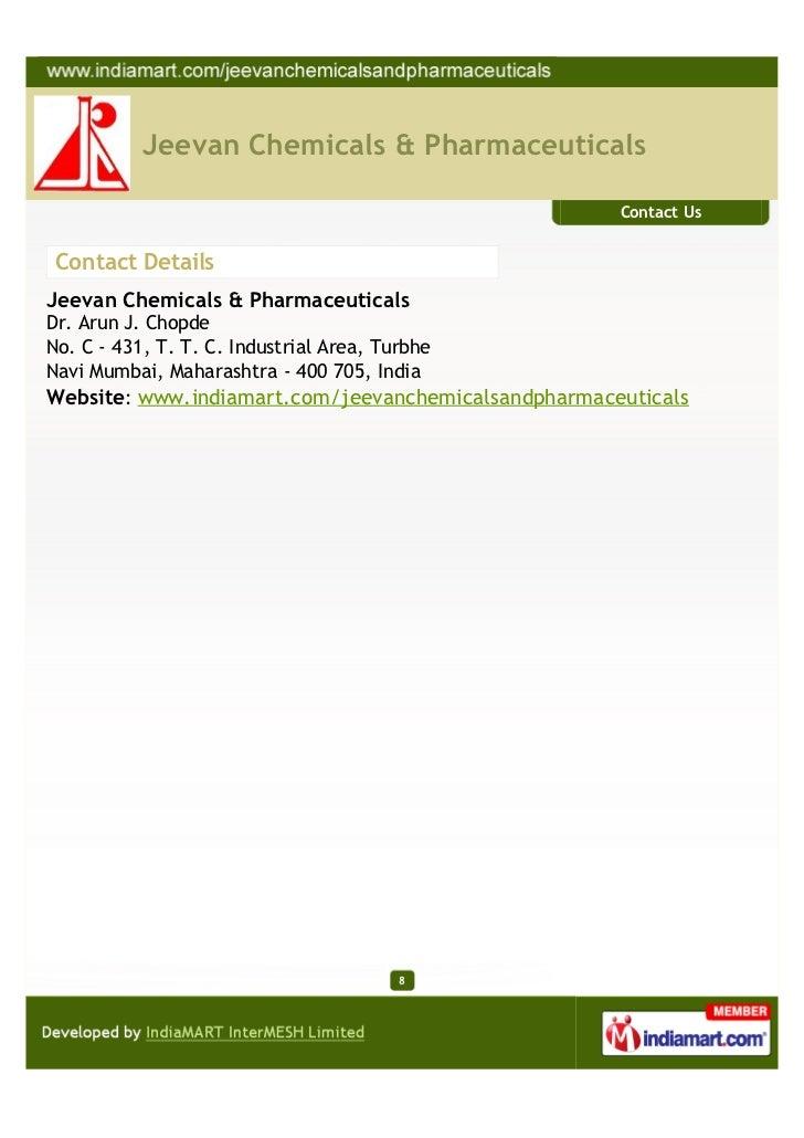 Jeevan Chemicals & Pharmaceuticals, Navi Mumbai, Industrial Chemical …
