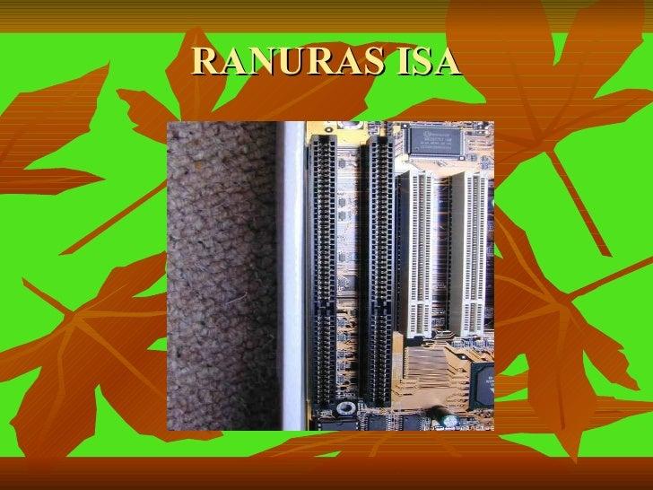 RANURAS ISA
