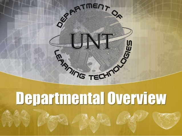 Departmental Overview