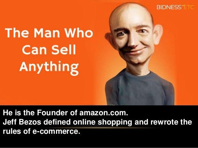 Jeff Bezos Amazon On His Leadership