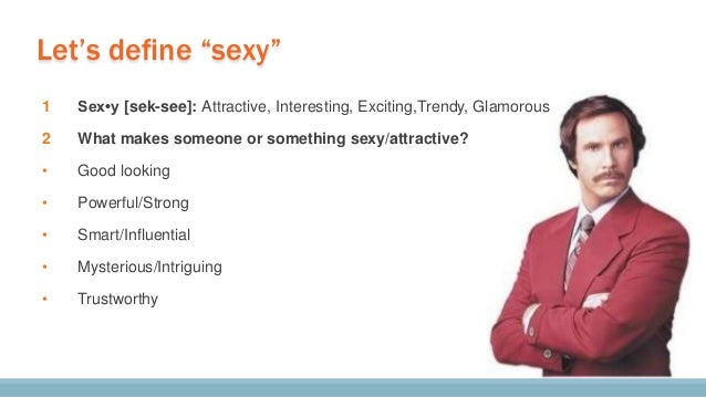 What makes a person sexy