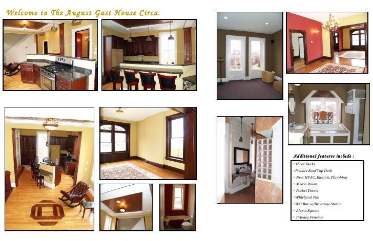Welcome to The August Gast House Circa. 1890 Additional features include  : <ul><li>Three Decks </li></ul><ul><li>Private ...