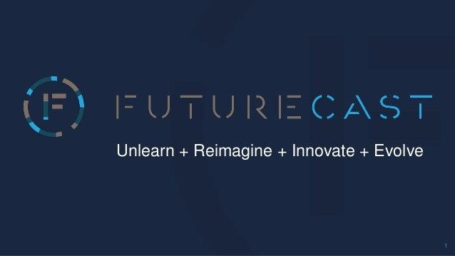 1 Unlearn + Reimagine + Innovate + Evolve