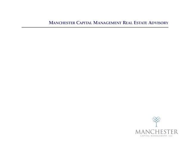 MANCHESTER CAPITAL MANAGEMENT REAL ESTATE ADVISORY