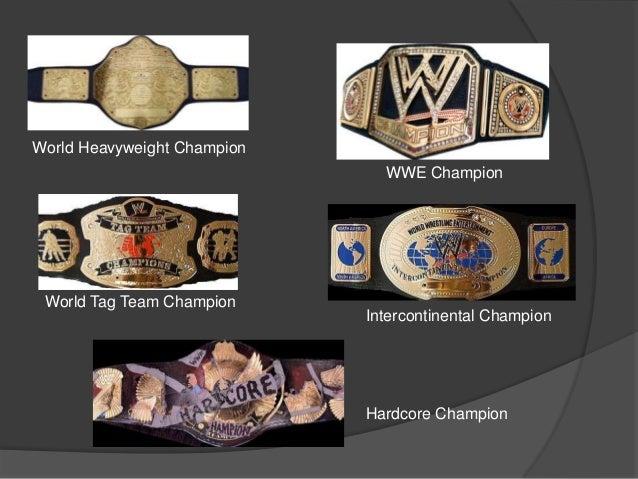 World Heavyweight Champion WWE