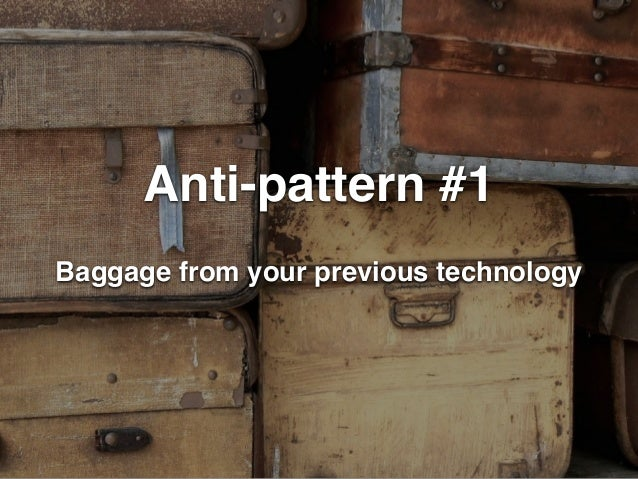 9 anti-patterns for node.js teams Slide 3