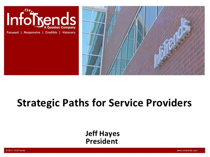 Strategic Paths for Service Providers<br />Jeff HayesPresident<br />
