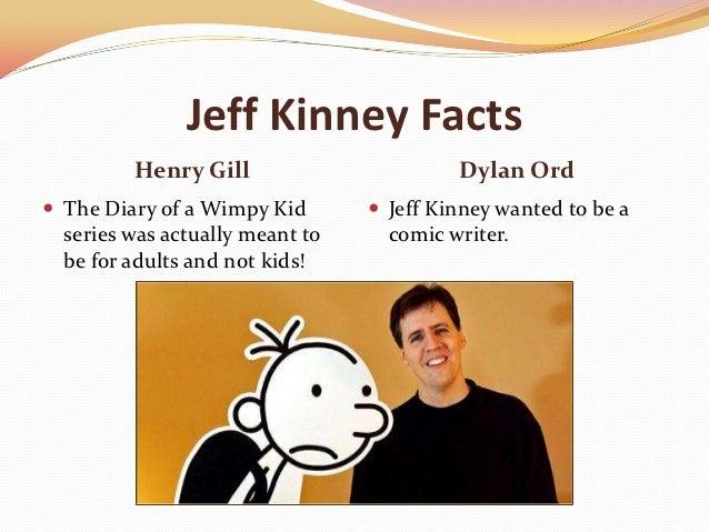 jeff kinney fakta