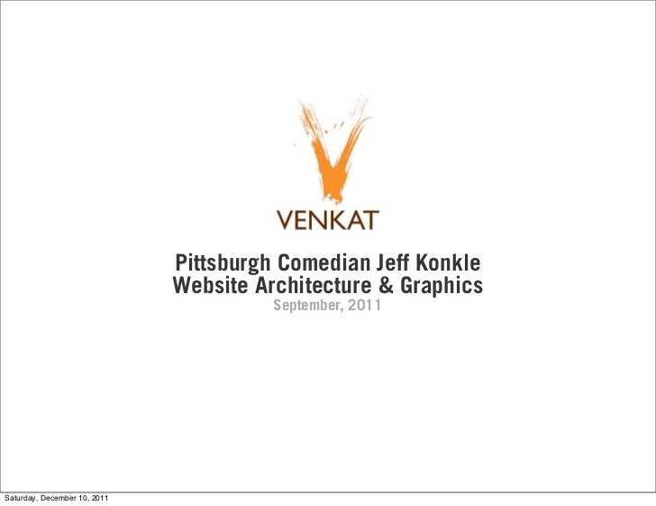 Pittsburgh Comedian Jeff Konkle                              Website Architecture & Graphics                              ...
