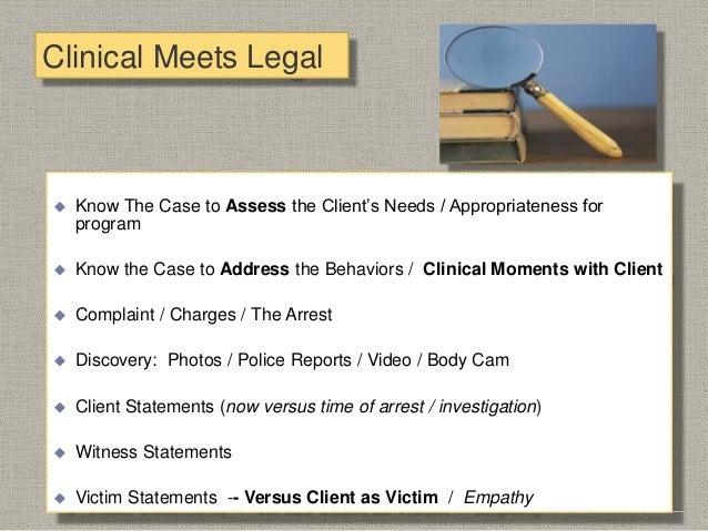 Strategic Partnership  Drug/DUI Court  Mental Health Court  Judge  District Attorney / City Attorney  Defense Counsel...
