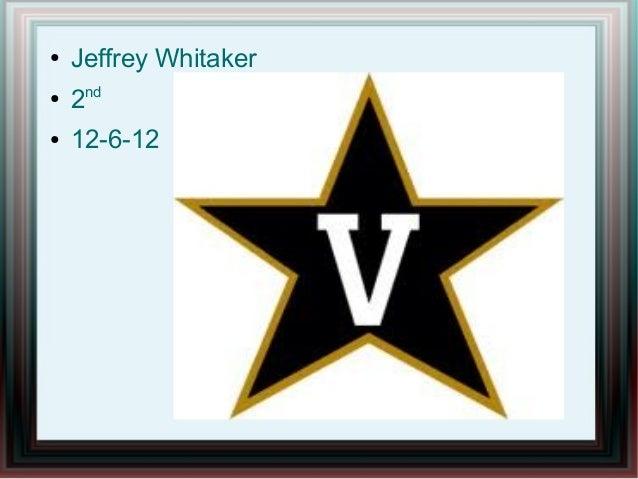 ●   Jeffrey Whitaker●    2nd●   12-6-12