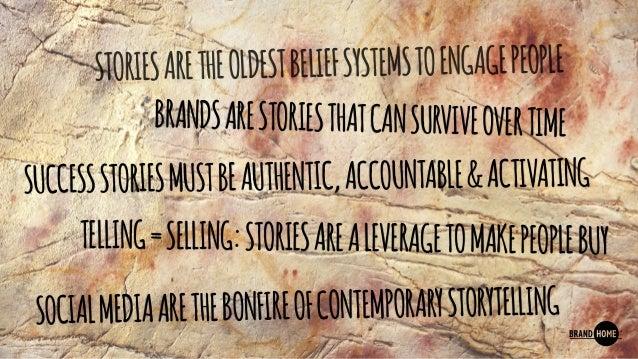 Social Storytelling for the Modern Caveman, Jef Pelkmans speaks at Eurobest 2015