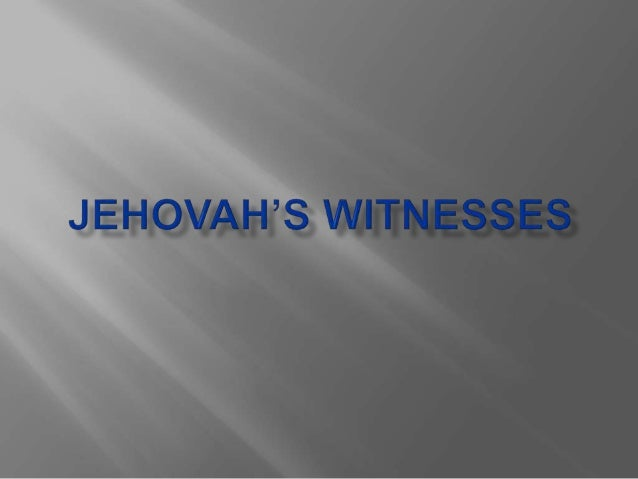  Jehovah's Witnesses are Christians who believe that the Bible is God's word and that Jesus is their Savior.