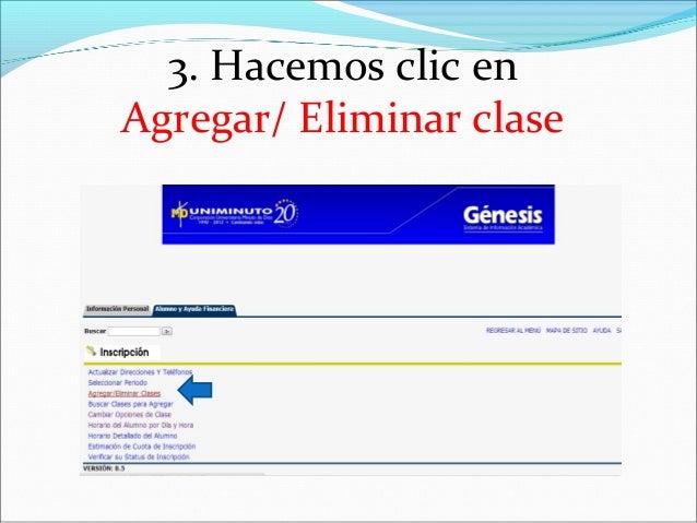 3. Hacemos clic enAgregar/ Eliminar clase