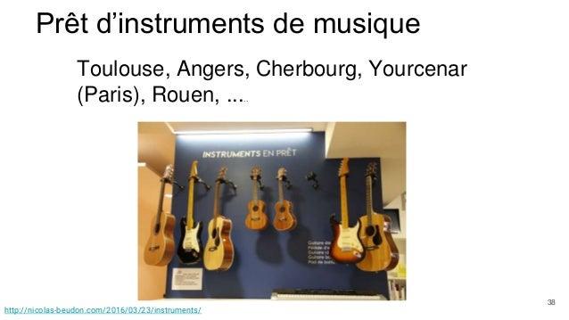 Prêt d'instruments de musique Toulouse, Angers, Cherbourg, Yourcenar (Paris), Rouen, ..... 23/instruments/ http://nicolas-...