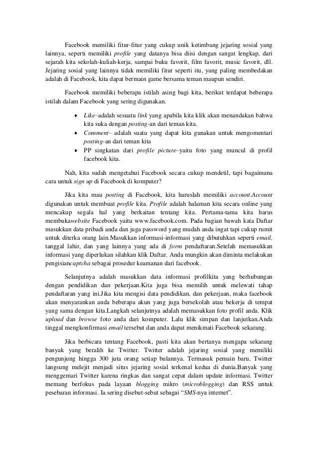 Contoh Text Eksposisi Singkat - Simak Gambar Berikut