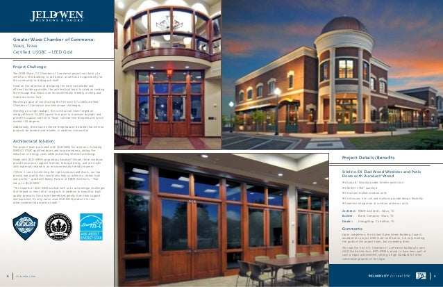 Jeld Wen Architectural Solutions Brochure