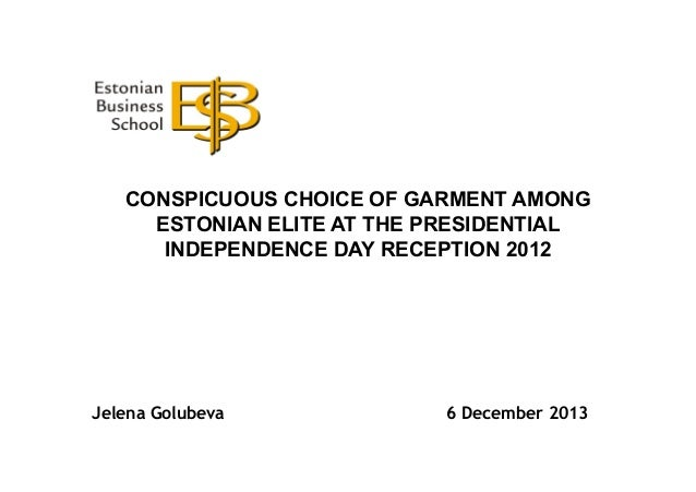 CONSPICUOUS CHOICE OF GARMENT AMONG ESTONIAN ELITE AT THE PRESIDENTIAL INDEPENDENCE DAY RECEPTION 2012  Jelena Golubeva  6...