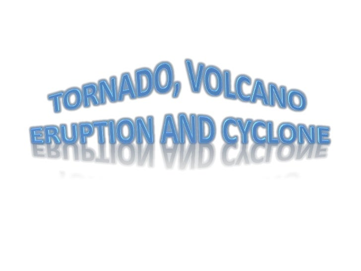 • A tropical cyclone is a storm system  characterized by a low-pressure center and  numerous thunderstorms that produce st...