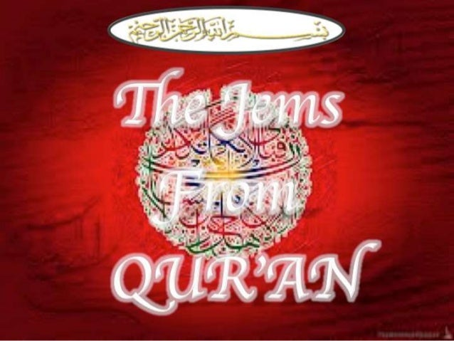 JEMS FROM QUR'AN