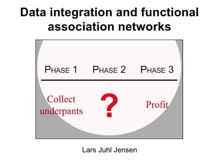 Lars Juhl Jensen Data integration and functional association networks