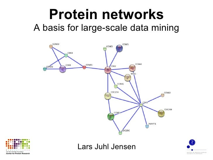 Protein networks A basis for large-scale data mining Lars Juhl Jensen