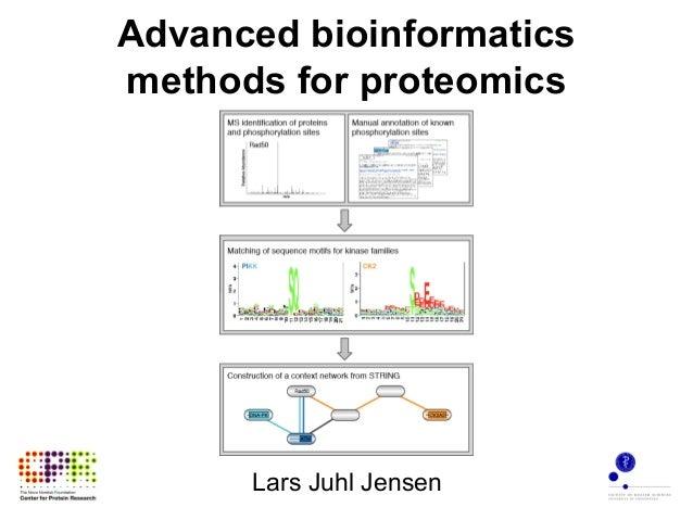 Advanced bioinformatics methods for proteomics Lars Juhl Jensen