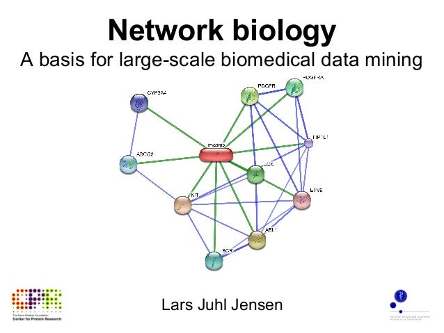 Network biology A basis for large-scale biomedical data mining Lars Juhl Jensen