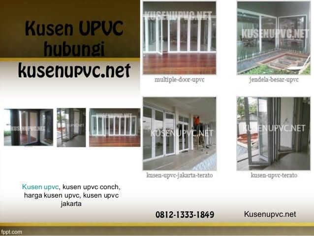 Harga Kusen Upvc 2020 Jakarta ~ Jual Pintu UPVC Dari Jakarta
