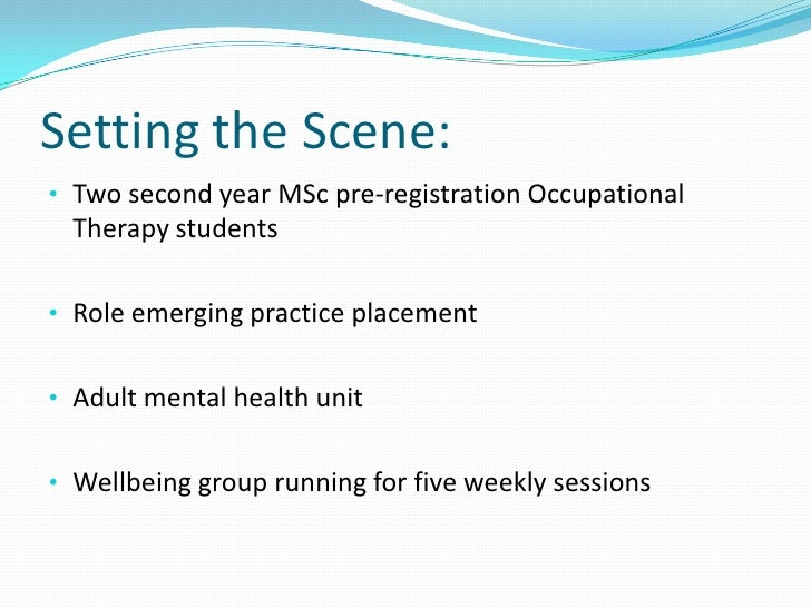 how to find a placement in mental health
