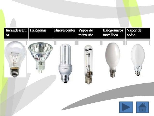 Tipos de luminarias