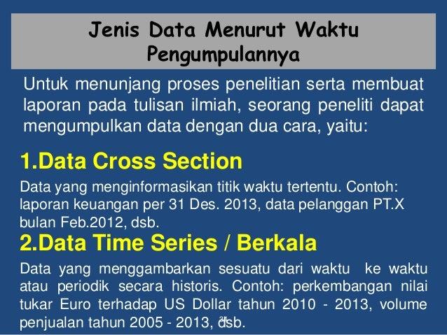 Sebutkan Dan Jelaskan Jenis Jenis Data
