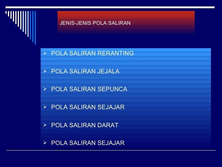 JENIS-JENIS POLA SALIRAN POLA SALIRAN RERANTING POLA SALIRAN JEJALA POLA SALIRAN SEPUNCA POLA SALIRAN SEJAJAR POLA SA...