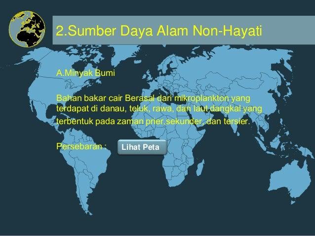 Jenis jenis dan Persebaran SDA di Indonesia