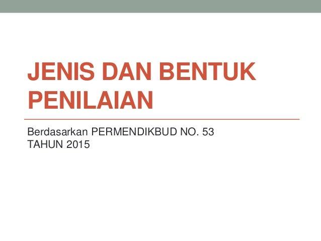 Image Result For Download Permendikbud Penilaian