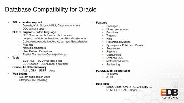 Sponsored Talk Pgconf Apac 2018 Migrating Oracle To Edb Postgres