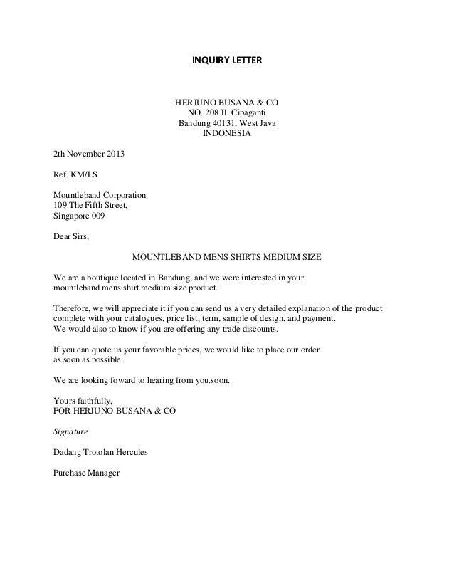 Jenis jenis surat Binggris