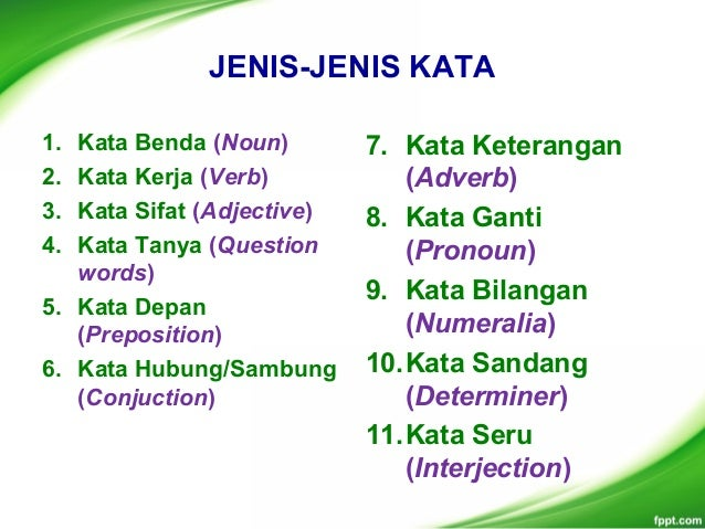 Contoh Adjective Of Number   Contoh Now