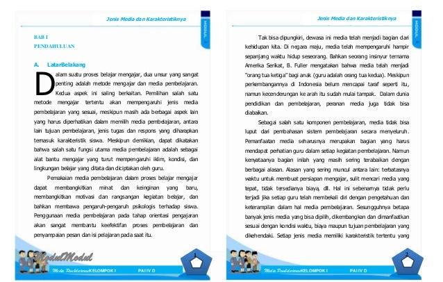 ModulModul Media PembelajaranKELOMPOK I PAI IV D Jenis Media dan Karakteristiknya Jenis Media dan Karakteristiknya Media P...