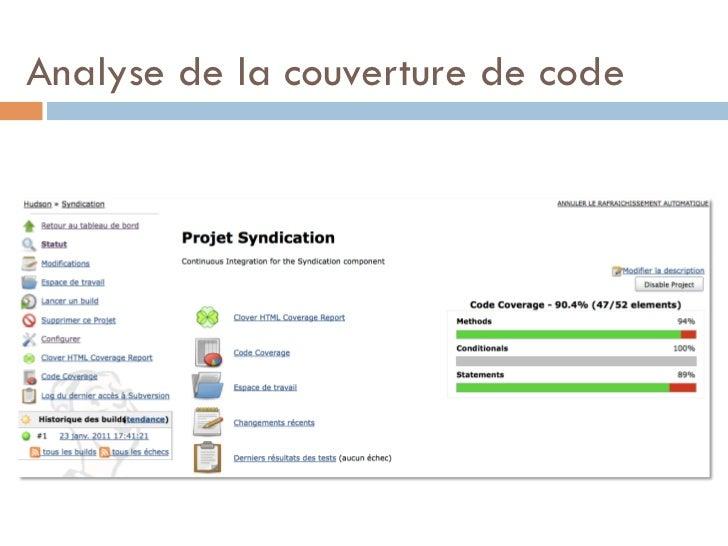 Analyse de la couverture de code