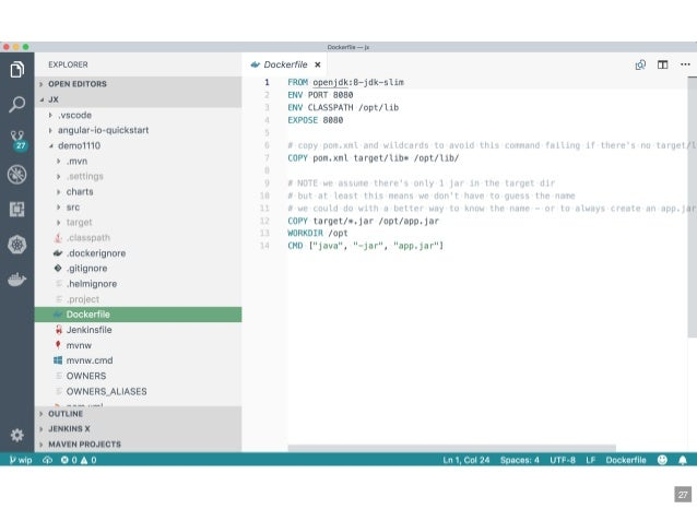 Jenkins X - automated CI/CD solution for cloud native