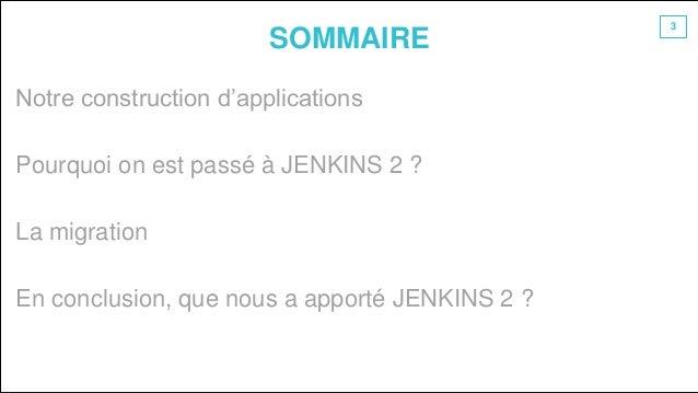 Jenkins2 : le retour ( d'expérience) : TouraineTech 2018 Slide 3