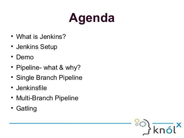 Jenkins Pipelining and Gatling Integration