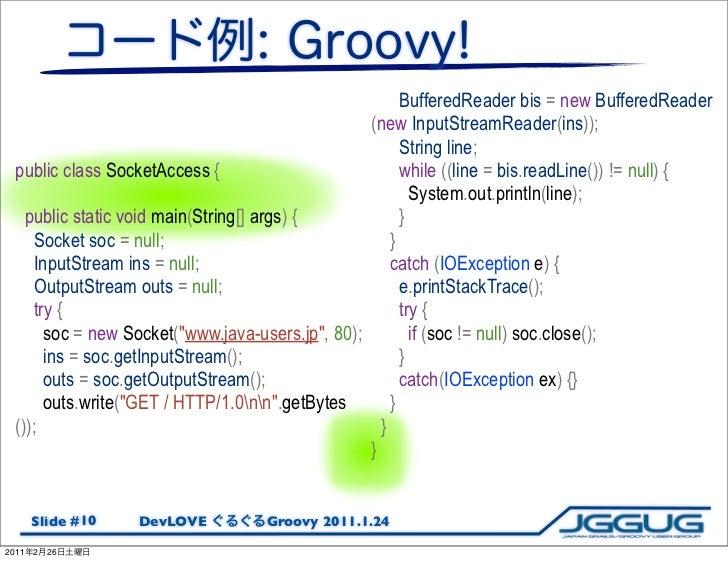 BufferedReader bis = new BufferedReader                                                  (new InputStreamReader(ins));    ...