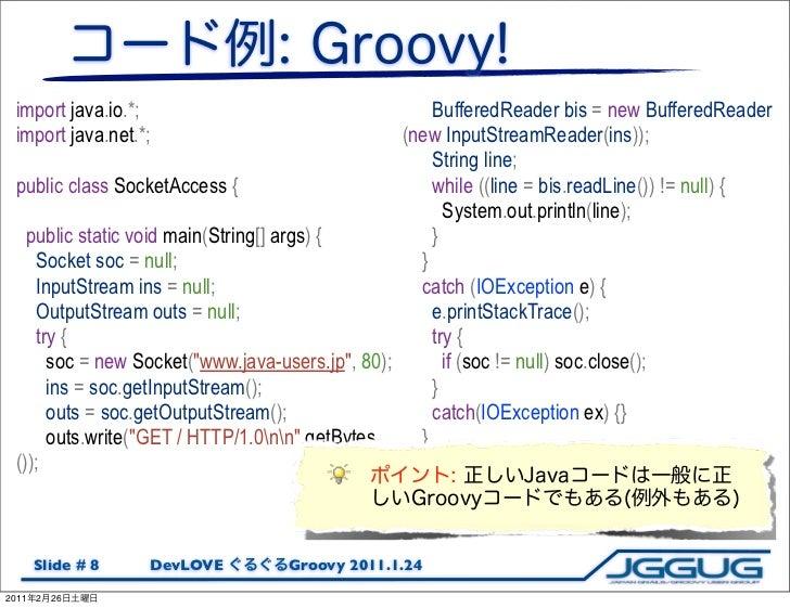 import java.io.*;                                     BufferedReader bis = new BufferedReader import java.net.*;          ...