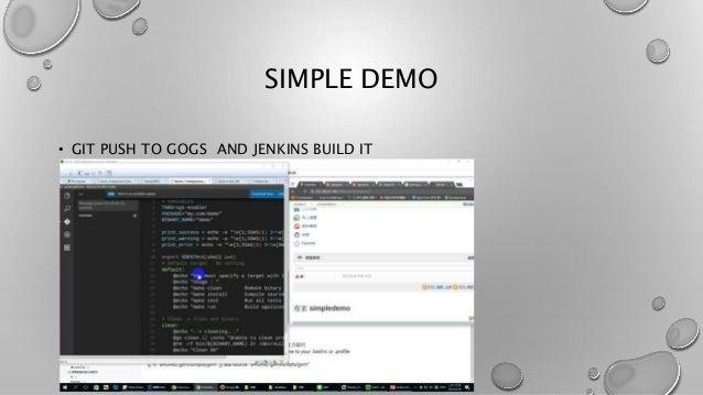 Jenkins vs gogs