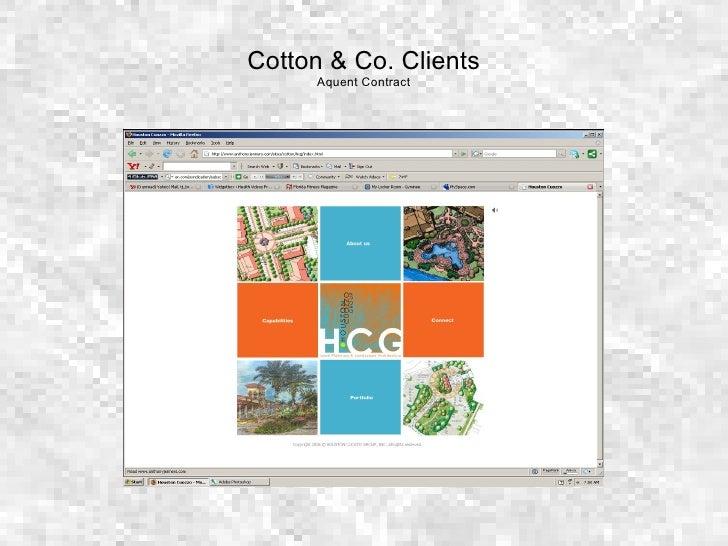 Cotton & Co. Clients Aquent Contract
