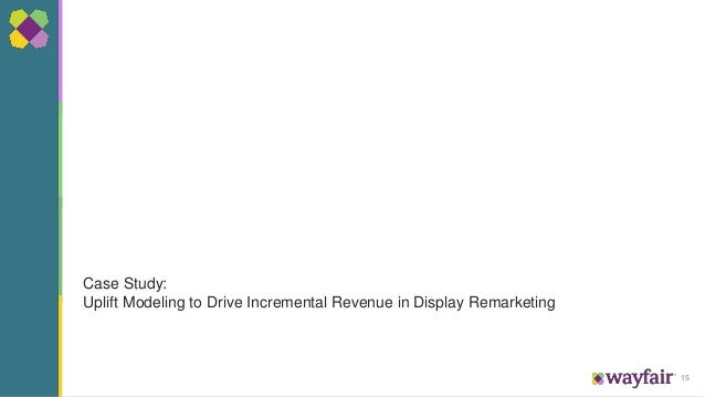 15 Case Study: Uplift Modeling to Drive Incremental Revenue in Display Remarketing