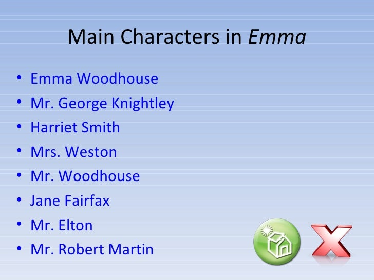 emma by jane austen a character guide